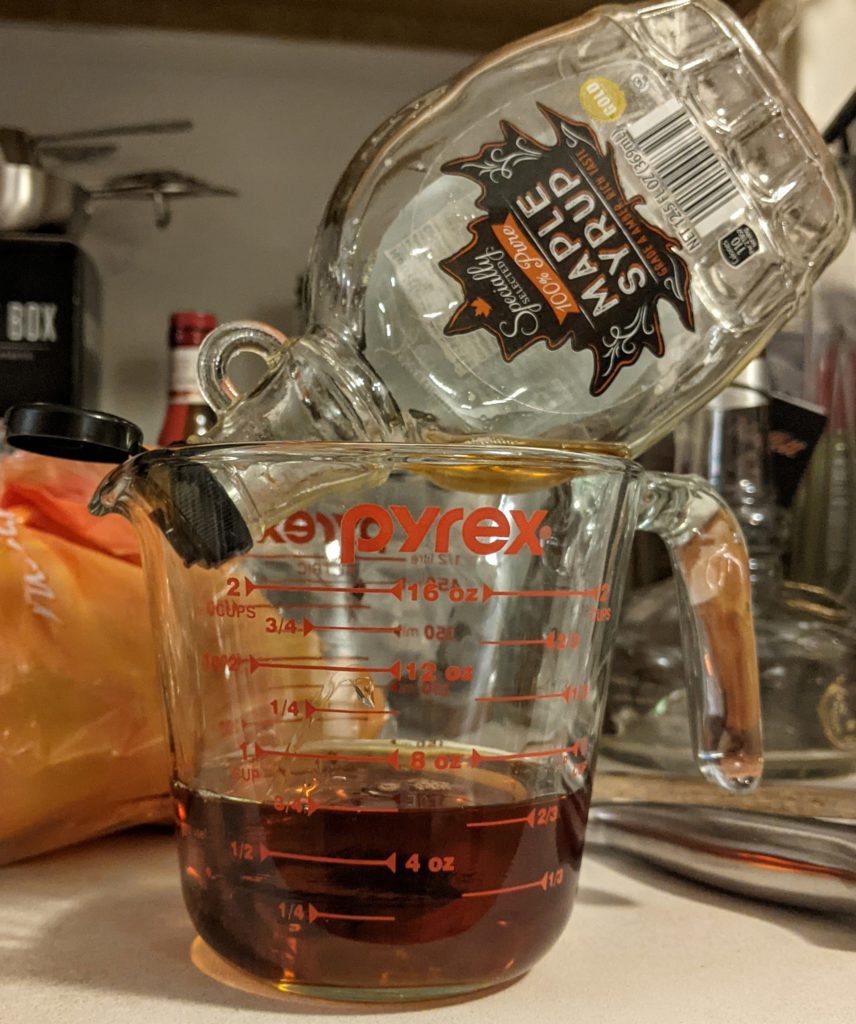 slow drip maple syrup